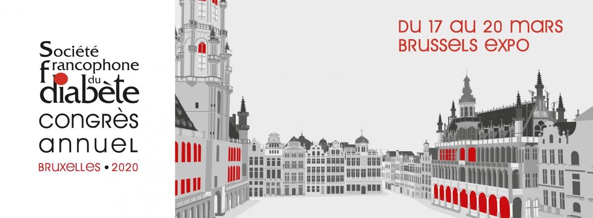 RDV à Bruxelles du 17 au 20 mars ASDIA à l'occasion du congrès de la SFD